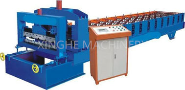 Cina Easy Operating Automatic Roll Forming Machines Untuk 840mm Antique Glazed Tile pemasok