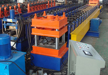 Cina Berwarna Steel Highway Guardrail Roll Forming Machine, Tube Forming Machine pemasok