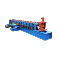 Cina Square Pipe Warna Steel Roll Forming Machine Sheet Metal Roll Forming Machine Downwater Rain Gutter pemasok
