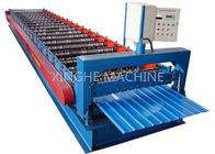 Cina 910mm IBR Standard Wall Panel Roll Forming Machine, Cold Roll Forming Machine pabrik