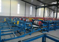 Automatic EPS Sandwich Panel Roll Forming Machine Dengan Sistem Kontrol PLC