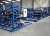 380V Sandwich Panel Roll Pembentukan Mesin, Sheet Metal Roll Forming Machine