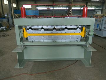 Double Layer Metal Roofing Corrugated Steel Sheet Dinding Panel Roll Forming Machine