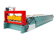 Automatic Metal Roof Forming Machine Making 840 Width Colored Steel Tiles